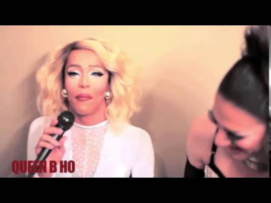 LARRAINE BOWS HO DOWN WITH QUEEN B HO AND RUPAULS DRAG RACE STAR KANDY HO