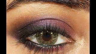 Purple Smokey Eye Makeup Tutorial | Corallista