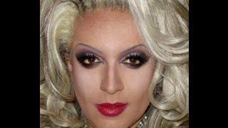 Classic Drag Queen Makeup Transformation
