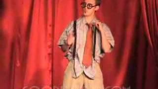 Drag King Justin Zaas - She Blinded Me With Sci