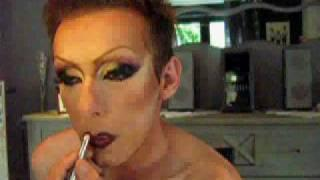 Man To Woman Drag Queen Make Up