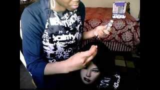3D Part On A Wig Cap (No Cutting) By: Tanisha