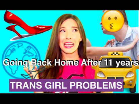 Going Back Home after 11 years TRANS GIRL PROBLEMS | Caroland