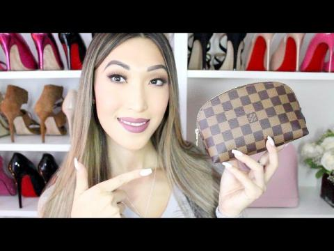 What's In My Makeup Bag? (LV Cosmetic Pouch Pm)