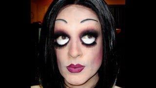 Halloween Doll Makeup Drag Queen
