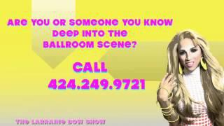 WANT TO BE A GUEST ON THE LARRAINE BOW SHOW? BALLROOM SCENE
