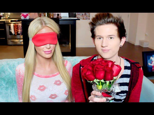 WHAT'S THAT SMELL CHALLENGE W/ RICKY DILLON! | Gigi