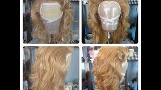Tutorial - Sewing Hair Into A Lace Front Wig