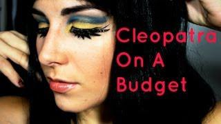 Cleopatra On A Budget (and How To Style A Cheap Wig)