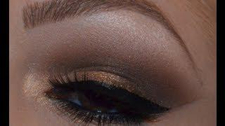 Make-up Tutorial Using Urban Decay  Naked Palette