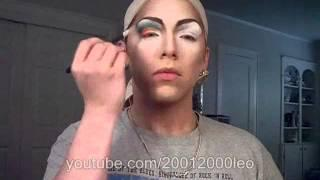 Drag Queen Makeup Tutorial 2 Of 2 English.