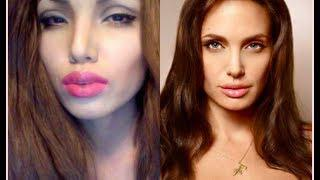 Angelina Jolie Make-up Transformation