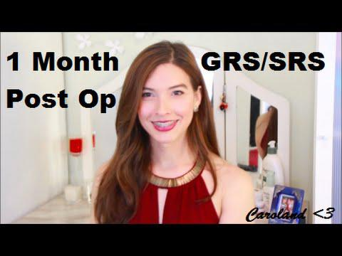 1 Month Post Op SRS/GRS - Our Trans Journey