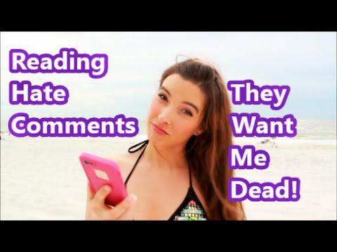 Reading Hate Comments - They Want me Dead!
