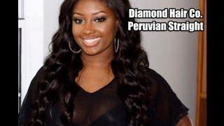 Virgin Peruvian Straight Hair Extensions | Diamond Hair Company