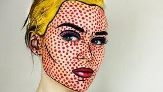 Pop Art / Comic Book Makeup Tutorial