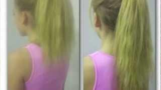 HOW TO MAKE YOUR HAIR LOOK LONGER NO HAIR EXTENSIONS