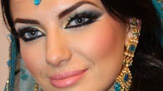 Makeup Tutorial Exotic Arabic Makeup Tutorial Princess Jasmine Makeupماكياج العربي