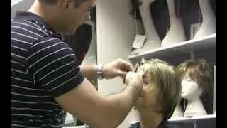 MICHAEL ROBERTS WIGS - Cutting A Wig