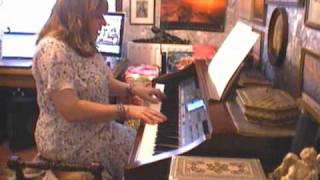 Solemn Melody - SIr Henry Walford Davies - Synthesiser Organ Keyboard Cover