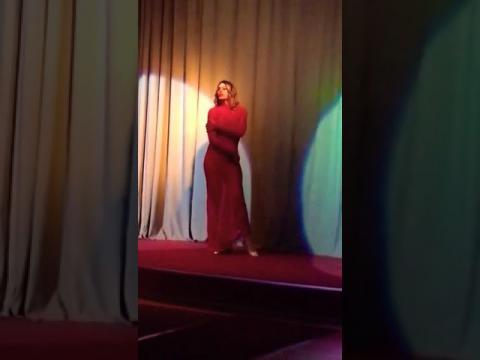 Valentine Vidal performing 'Love me like you do' show - sfilata - catwalk