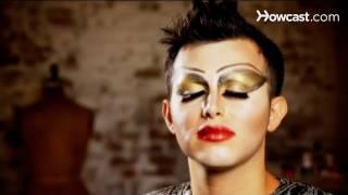 Halloween Makeup Tutorial: Drag Makeup / Hiding Natural Eyebrows