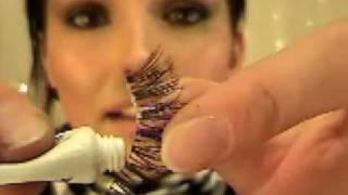How To Apply False Eyelashes (by Kandee Johnson)