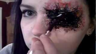 Gouged Eye Makeup Tutorial