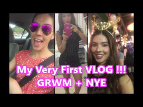 My Very First Vlog!!! GRWM + NYE