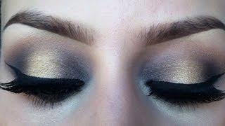 Two Toned Eyeshadow Makeup Tutorial