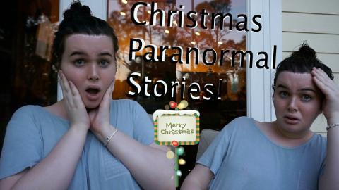 Paranormal Christmas Stories From My Haunted House in England! (Collab)