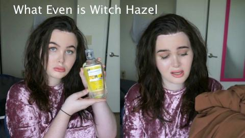 Not So Basic - BASIC Haul! Inventing The Witch Hazel Shot Challenge and More!