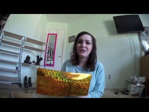 MYSTERY PACKAGE FROM A YOUTUBER!!! (unboxing)
