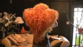 Drag Queen Lessons - How To Make A Merida Wig
