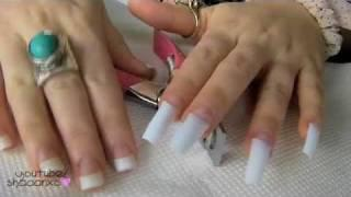 Acrylic Nails♡ How To Do Your Own Acrylic Nails At Home ♡