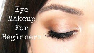 Beginner Eye Makeup Tips&Tricks