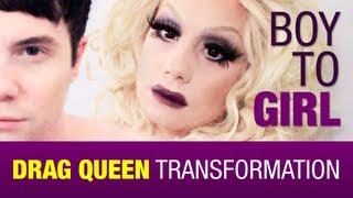 Boy To Girl - Drag QueenTransformation