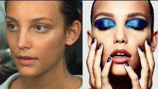 Pop Art Inspired Peacock Eye: Metallic Blue Eyeshadow Make-Up Tutorial | Charlotte Tilbury