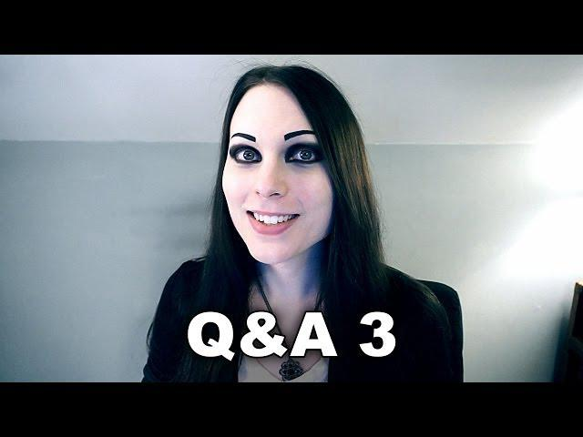 Q&A 3 + Weird Messages (October, 2013 - December, 2013)