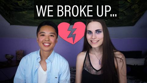 WE BROKE UP, but...