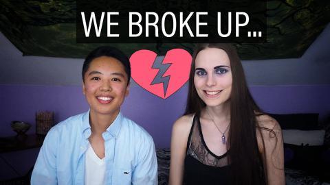 WE BROKE UP, but...
