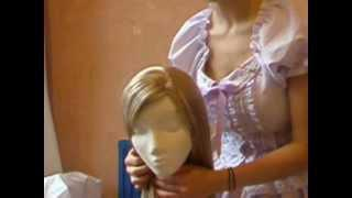 Wig Styling Mini-Tutorial: How To Create A Side-Parting
