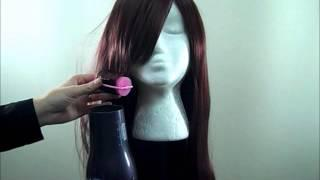 Tutorial: Styling With Heat - Curling Heat Resistant Fibers.