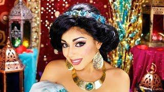 Princess Jasmine Makeup Tutorial!