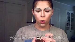 Drag Queen Makeup Tutorial 1 Of 2 English.