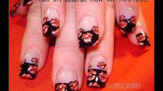 Red Hot Lips French Kiss Nail Art