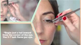 ModCloth How-to: Applying False Eyelashes