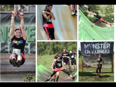 My Monster Challenges Mud Race 2015 !!!