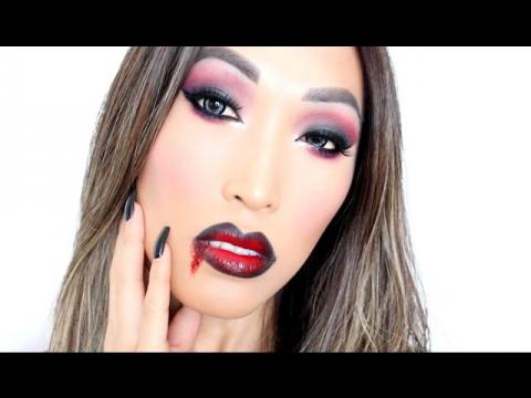 Vampire Makeup Tutorial (Halloween)