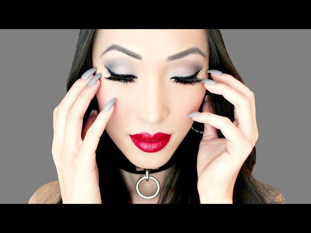 Fifty Shades Of Grey (Inspired Makeup Tutorial)
